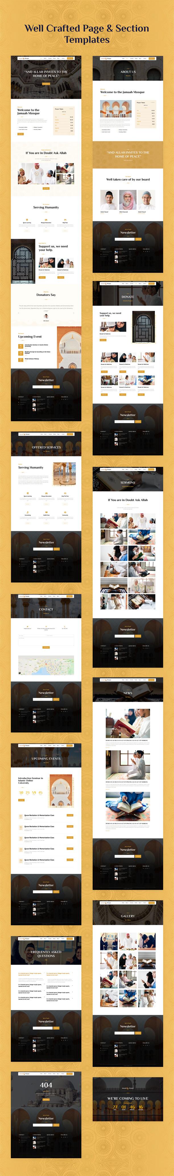 Mosque WordPress Template